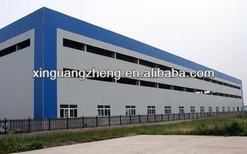 Factory Shed Design Steel Structure Warehouse With Construction