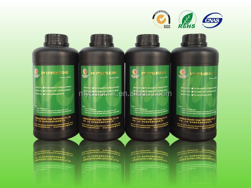 1L Package CMYKLcLmW uv inkjet ink