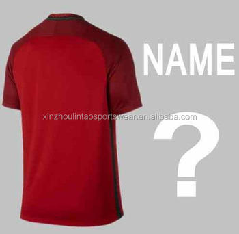 finest selection e9b03 a5c79 Free Shipping To Portugal 2016-2017 Home Red Football Shirt Customs Ronaldo  Thailand Soccer Jersey - Buy Portugal Soccer Jersey,Portugal ...
