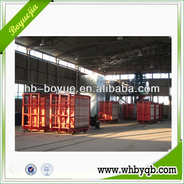 Full-automatic eps fiber sandwich panel production line, building construction materials making machine