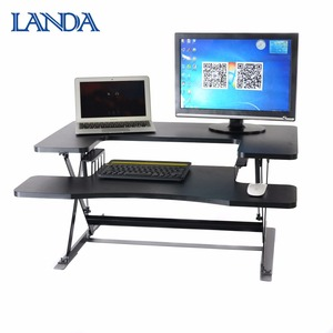 Fashion style adjustable height office workstation standing desk