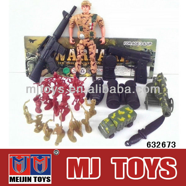 Plastic toy soldier army soldier force toys