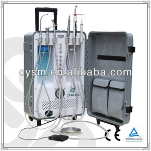 Promotional Dental Portable Unit/Portable Dental Chair with CE/Dental Unit with 3-way Syringe