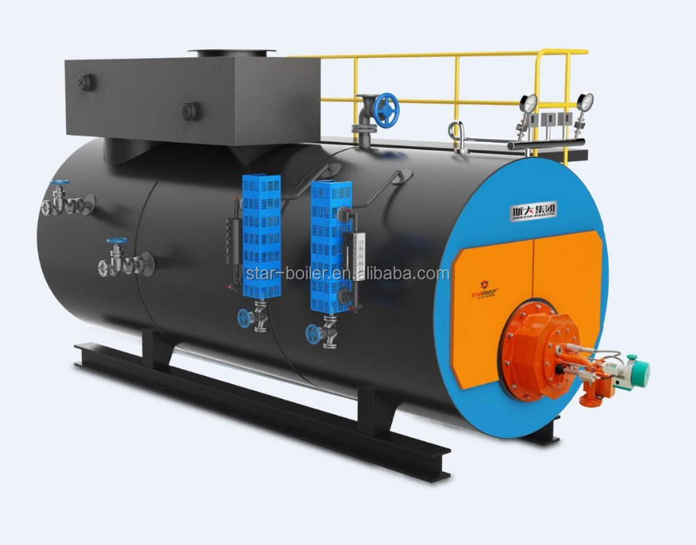 2 ton professional gas fired boiler steam boiler economizer made by Chinese manufacturing boiler