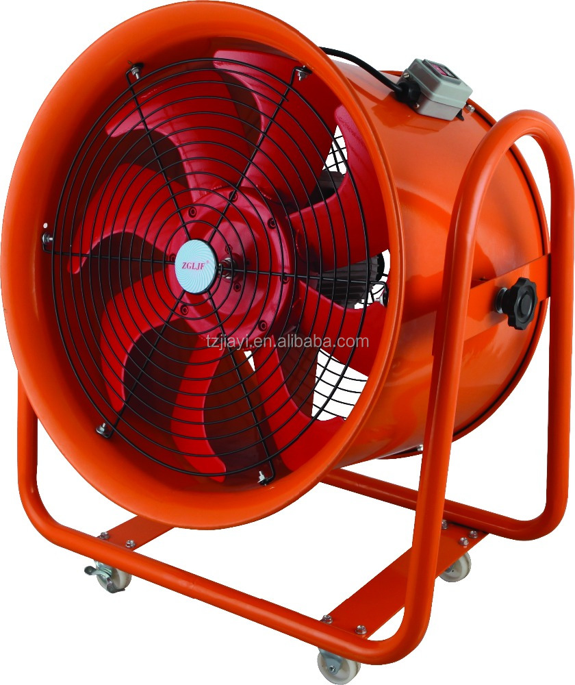 24inch High speed large wind explosion proof mine ventilators machine