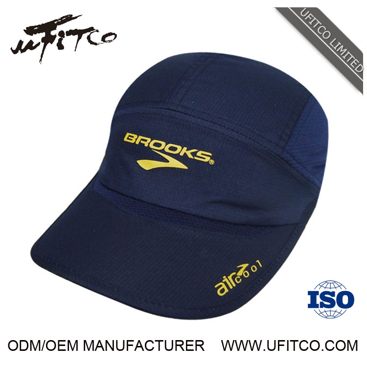 3835799ae3a China factory high quality OEM custom made polyester mesh wholesale running  visor cap