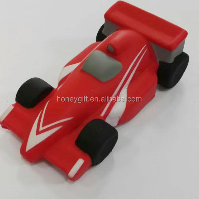 Factory price promotional formula race car stress ball