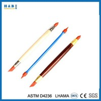 Double-headed rubber pen clay tools