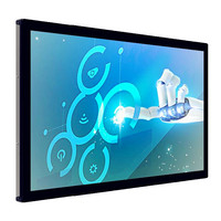 "86"" Large Screen Capacitive Interactive Smart TV Touch Screen LED Display 55~98 inch"