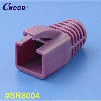 "excellent quality PC cat7 ftp 50u"" modular plug protective sleeve"