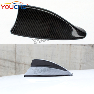 Carbon fiber roof antenna shark fin for BMW 5 series F10 antenna cover 7 series F01 F02 F03 F04 2010-2017