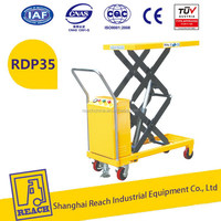 China manufacturer most competitive full electric scissor lift table truck