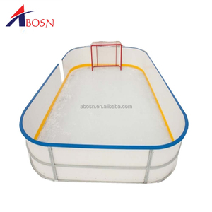 PP floorball rink barriers HDPE ice hockey rink fence panels for sale
