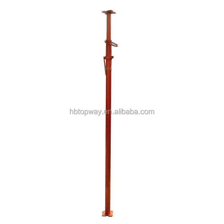 Galvanized or painted scaffold adjustable shoring jacks puntal
