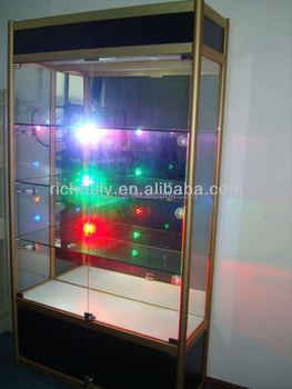 Perfume Display Kiosk Perfume Display Cabinet With Led Light ...