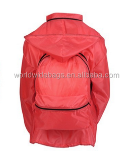 Multi-Function Camping Backpack With Rain Jacket