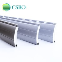 Window rolling shutter with spring