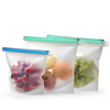 Amazon Best Seller Food Grade Reusable Silicone Food Storage Bag Versatile Preservation Container Freezer Bag