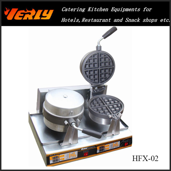 Hot Sale 110V/220V Electric Egg Waffle Maker HFX-02