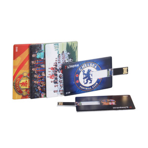Promotional branded usb cards with logo