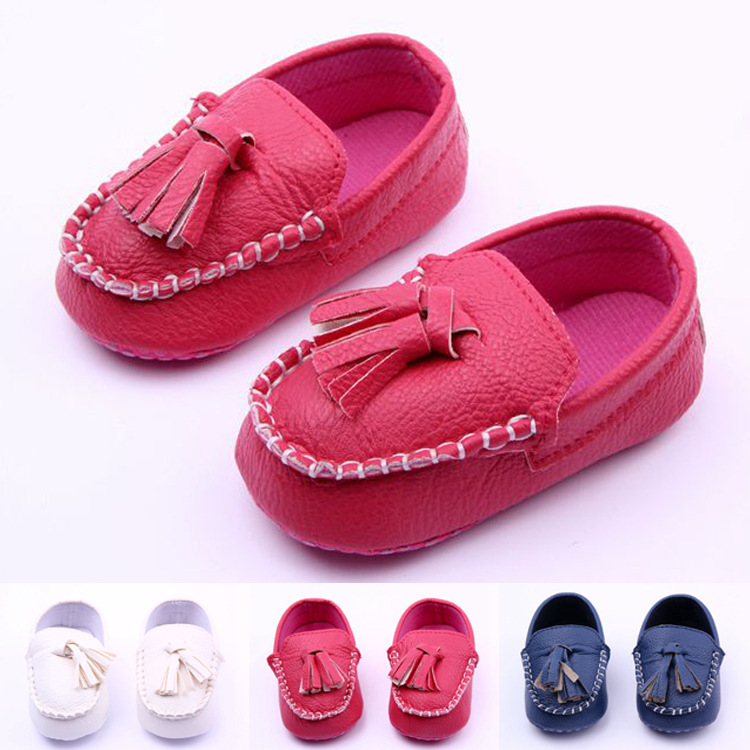 High quality leather baby shoes girls shoes 2015 new brand babyb toddler shoes princess girls first walkers fashion tassel shoes