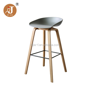 Wholesale Kitchen Counter Plastic Bar Stool With Wooden Legs - Buy Plastic  Bar Stool,Wooden Bar Stool,Counter Bar Stool Product on Alibaba.com