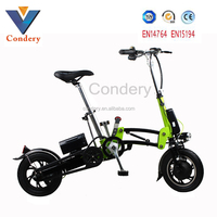 2016 New Electric Bike China folding electric bike with hidden battery/electric bicycle for sale EN15194 EN14764
