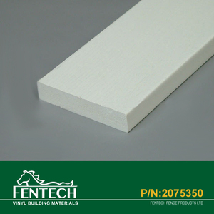 White Vinyl PVC Waterproof Trim Board