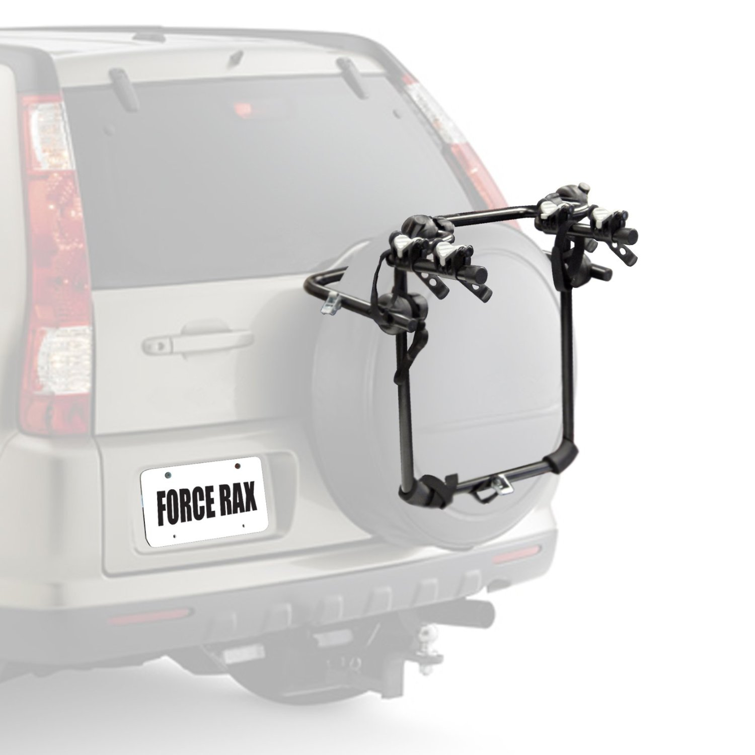 Force Rax Deluxe 2 Bike Spare Tire Car Rack S.2 - 740282