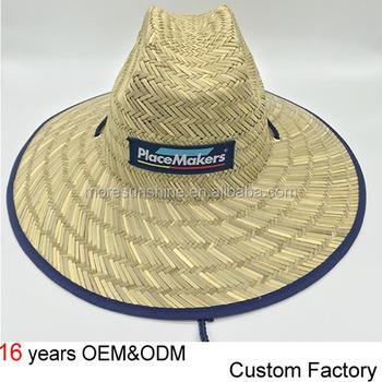 d3152173ab5 2018 Custom Women Safari Hat Wide Brim Straw Lifeguard Hat - Buy ...