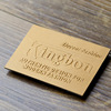 China Supplier Custom Printed/Embossed Brand Name Faux Leather Labels For Men Clothing Labels