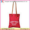 Canvas handbag shoulder tote with PU Leather Handle