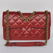classic quilted calfskin leather ladies top quality designer elegance handbags