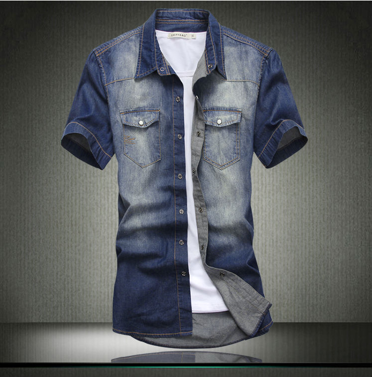 2014 New Fashionable Fancy Design Jean Mens Dress Shirts - Buy ...