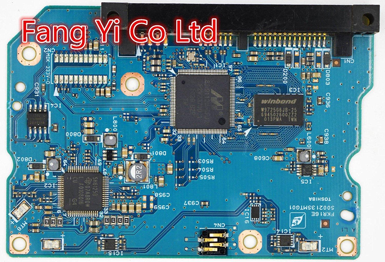 HDD PCB for Toshiba /Logic Board/Board Number: S002135MT / Main Controller IC: 88i9112U-TFJ2