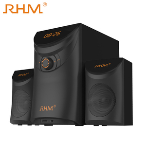 RHM Best 2.1 Channel DJ Bass Home Theater System Speaker with Subwoofer Speaker
