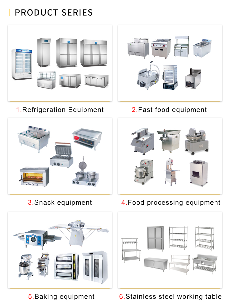 Hotel Kitchen Equipment List Design With Ce Roval