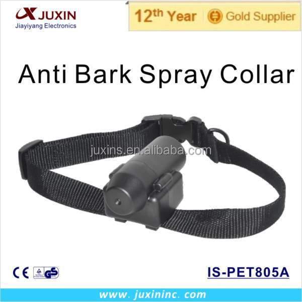 Fashion Automatic Spray No Shock Pet Collar Electronic Rechargeable Dog Training Collar