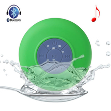 Mini suction sticker wireless waterproof MIC shower speaker
