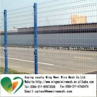 stainless steel 3D wire mesh fence home depot welded wire mesh fence