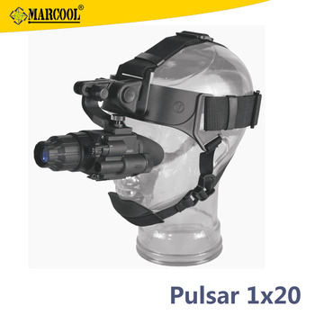 Original Pulsar Challenger GS 1x20 Head Mount Kit Military Firearms Hunting Night Vision Monocular Scope Goggles Military