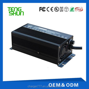 350W series 12v 20a 24v 10a 36v 8a 48v 5a intelligent automatic golf car lead acid battery charger