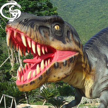 2019 parc d'attractions animatronic dinosaure dinosaure artificiel à vendre