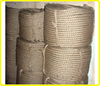 3-strand jute rope jute twine , 30mm natural color twisted twine rope , jute package rope