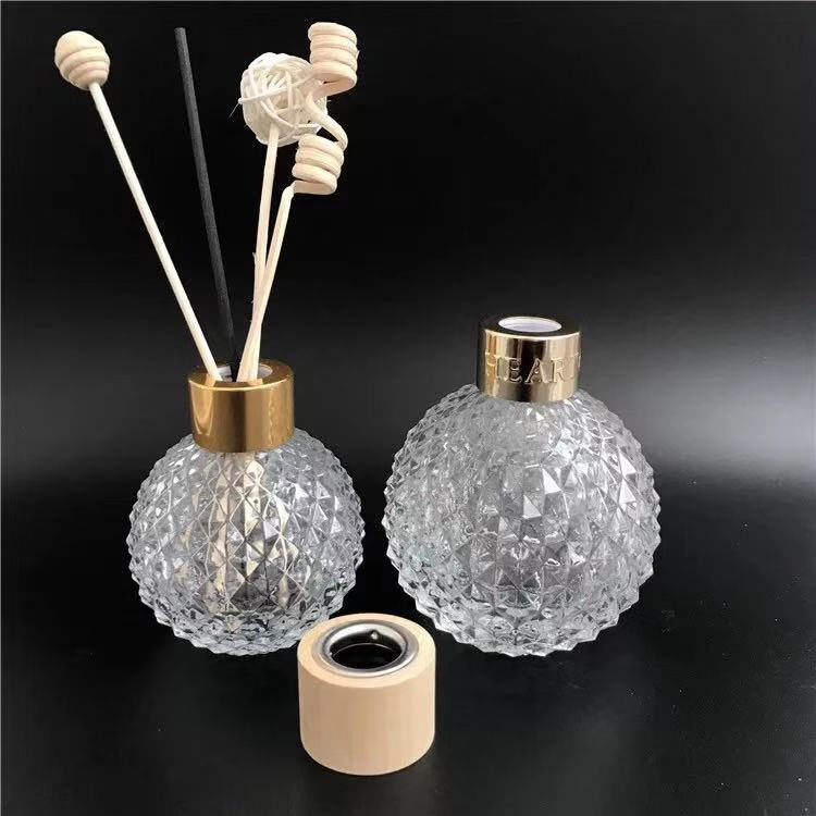 Unieke luxe China Fabriek Prijs Parfum containers Tall Reed Diffuser Glazen Fles