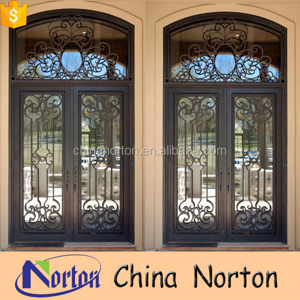 Wrought Iron Double Entry Doors Wrought Iron Double Entry Doors Suppliers and Manufacturers at Alibaba.com & Wrought Iron Double Entry Doors Wrought Iron Double Entry Doors ...