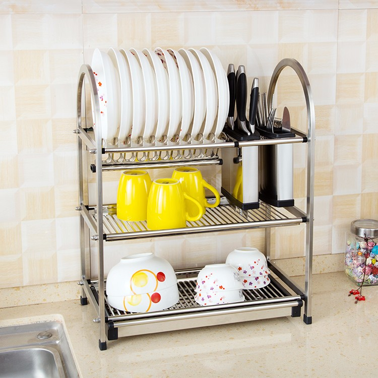ChuZhiLe Hot Sale stainless steel Dish Rack D1780