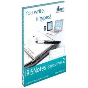 """I.R.I.S Irisnotes Executive 2 Digital Pen . Infrared Pen . Pc, Mac """"Product Type: Input Devices/Digital Writing Systems"""""""