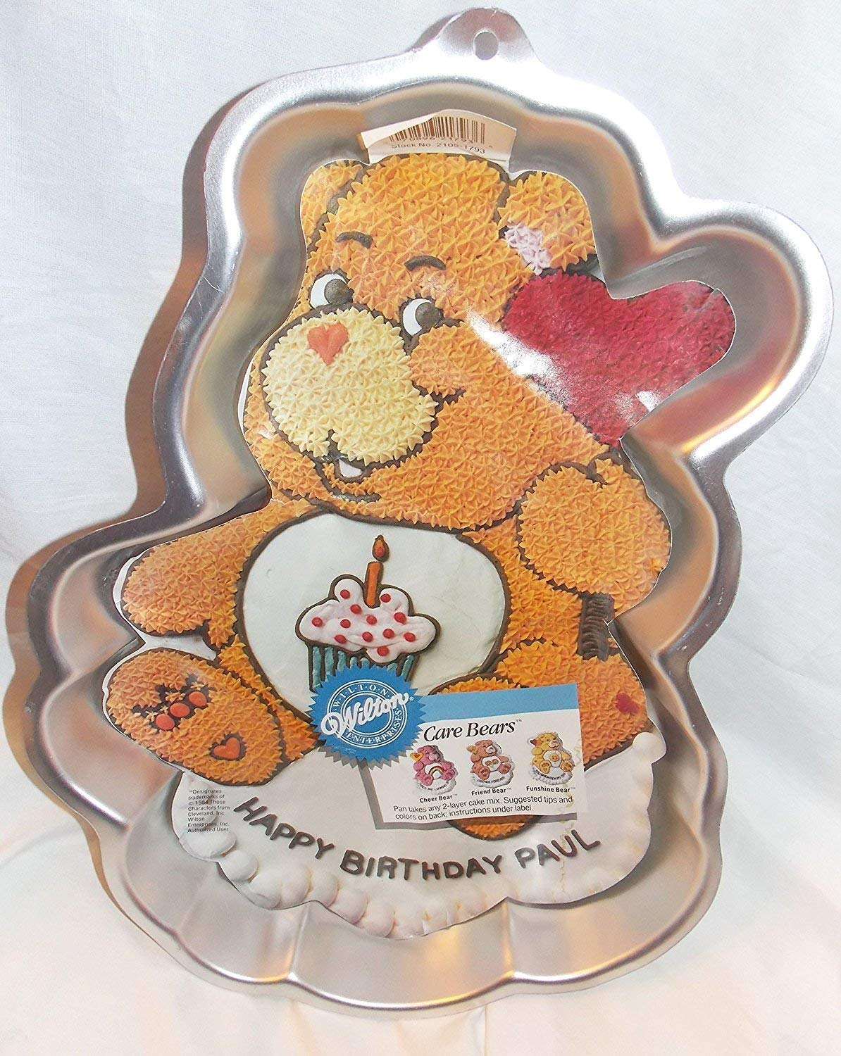 Get Quotations 1987 Care Bears Cake Pan