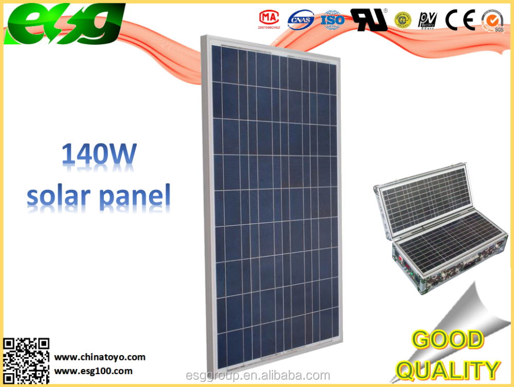 <strong>Solar</strong> off grid system 140w TOP SELL sunpower cell
